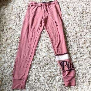 PINK Victoria's Secret Pants & Jumpsuits - * pink skinny joggers *